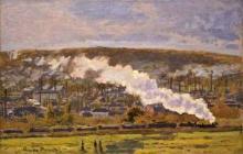 Monet, Il treno merci | Le train de marchandises | The goods train