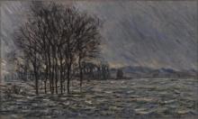 Monet, Inondazione   Inondation   Flood   Hochwasser