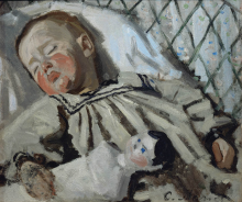 Monet, Jean Monet addormentato | Jean Monet endormi | Jean Monet sleeping