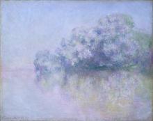 Monet, L'Ile aux Orties nei pressi di Vernon | L'Île aux Orties près de Vernon | Île aux Orties near Vernon