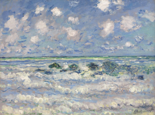 Claude Monet, L'onda | La vague | The wave
