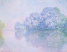 Monet, La Senna a Giverny | La Seine à Giverny | The Seine at Giverny
