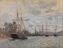 Monet, La Senna a Rouen   La Seine à Rouen   The Seine at Rouen   Die Seine bei Rouen