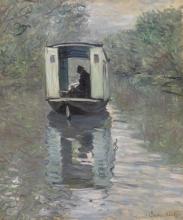 Monet, La barca-studio | Le bateau-atelier | The studio boat