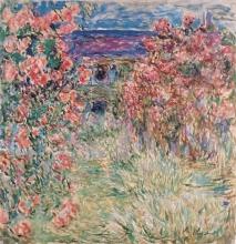Monet, La casa tra le rose   La maison dans les roses   The house in the roses   Das Haus in den Rosen