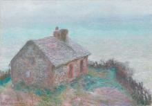 Monet, La casetta dei doganieri a Varengeville | La cabane des douaniers à Varengeville | The customs house at Varengeville