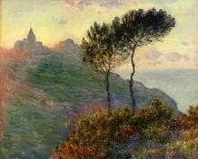 Monet, La chiesa di Varengeville | L'église de Varengeville | The church at Varengeville
