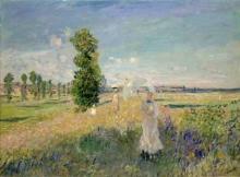 Monet, La passeggiata | La promenade | The walk
