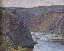 Claude Monet, Le forre della Creuse   Les ravins de la Creuse   The ravines of the Creuse