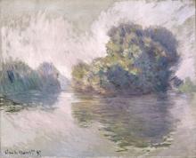 Monet, Le isole a Port Villez   Les Îles à Port-Villez   The Islets at Port-Villez