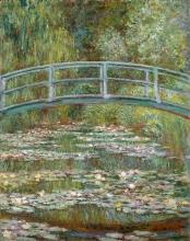 Monet, Ponte su uno stagno di ninfee.jpg
