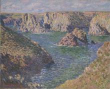 Monet, Port Domois, Belle Ile.png