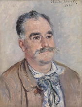 Monet, Ritratto di Monsieur Coqueret (Padre) | Portrait de Monsieur Coqueret (Père) | Monsieur Coqueret (Father)