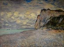 Monet, Scogliera nei pressi di Dieppe | Falaise près de Dieppe | Cliffs near Dieppe