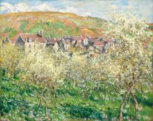 Claude Monet, Susini in fiore | Plum trees in blossom