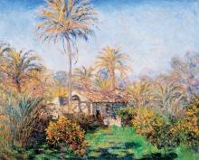Monet, Un angolo di fattoria a Bordighera | Un coin de ferme à Bordighera | Small country farm at Bordighera