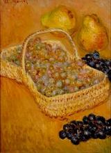 Monet, Un cestino d'uva.jpg