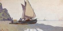 Morbelli, Barche sulla spiaggia.jpg