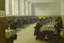 Angelo Morbelli, Refettorio maschile del Pio Albergo Trivulzio