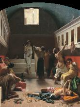 Domenico  Morelli, Bagno pompejano [1861]