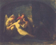 Domenico Morelli, Morte di una martire cristiana