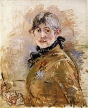 Morisot, Autoritratto (1885 circa).jpg