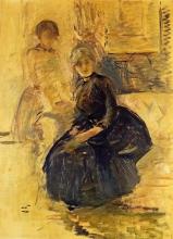 Morisot, Autoritratto con Julie (Studio).jpg