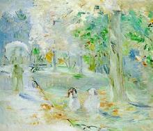 Morisot, Autunno al Bois de Boulogne [1884].jpg