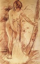 Morisot, Bagnante in piedi.png