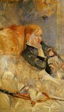 Morisot, Bambina con la bambola [1886].jpg