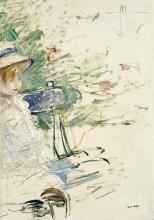 Morisot, Bambina in un giardino.jpg