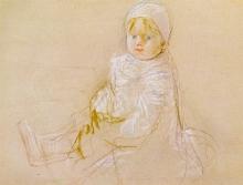 Morisot, Bebe seduto | Bebé assis