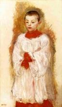 Morisot, Chierichetto.jpg