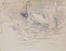Morisot, Cigni [1888].png