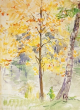 Morisot, Colori autunnali nel Bois de Boulogne.jpg