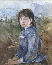 Morisot, Contadina nizzarda | Paysanne niçoise