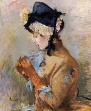 Morisot, Donna con i guanti.jpg