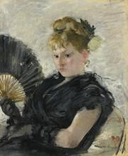 Morisot, Donna con il ventaglio.jpg