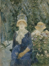 Morisot, Donna in un giardino.jpg