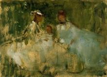 Morisot, Donne e bambina in uno scenario naturale.jpg