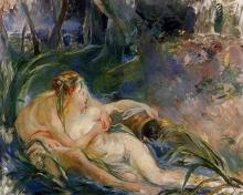Morisot, Due ninfe che si abbracciano.jpg
