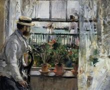 Morisot, Eugene Manet all'Isola di Wight.jpg