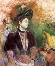 Morisot, Giovane donna e bambina, Avenue du Bois [1894].jpg