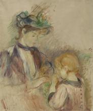 Morisot, Giovane donna e bambina, Avenue du Bois.jpg