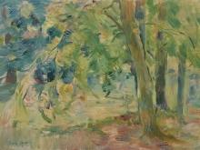 Morisot, Il bosco del Mesnil.jpg