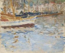 Morisot, Il porto di Nizza.jpg