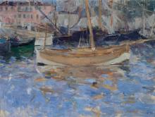 Morisot, Il porto di Nizza.png