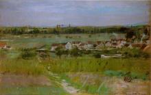 Morisot, Il villaggio di Maurecourt.jpg
