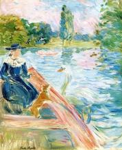 Morisot, In barca sul lago.jpg