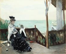 Morisot, In una villa al mare.png